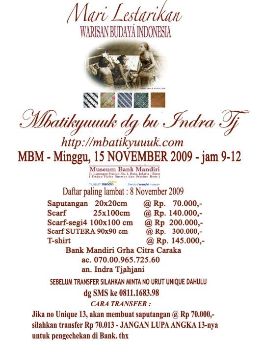 0001.Mbatikyuuuk 15 Nov 2009