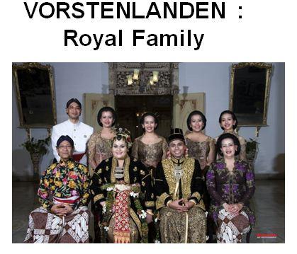 VOORSTENLANDEN - ROYAL FAMILY BATIK